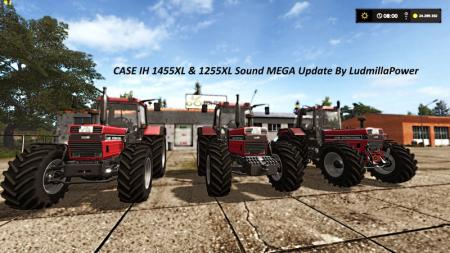 Case IH 1455 XL & 1255 XL Sound Update By Ludmi... V 1.0