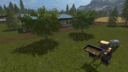 Placeable Fruit Trees