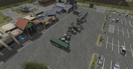 Camo Pack Newholland and Case Tractor v 1.0