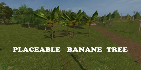 Placeable Banane Tree V 1