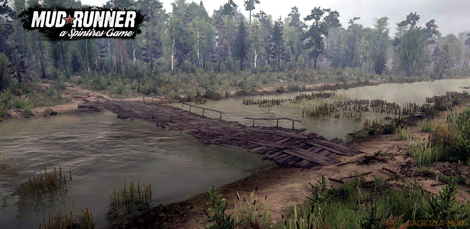 how to change maps in mudrunner