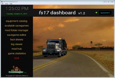 FS17 DASHBOARD V1.3