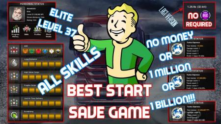 Best Start Save Game (3 in 1) + Easy guide for how to change your profile name