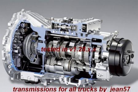 Transmissions for all Trucks 1.28