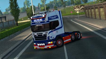Scania R500 Van Der Ree