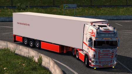 Scania Jesper Hansen + Trailer