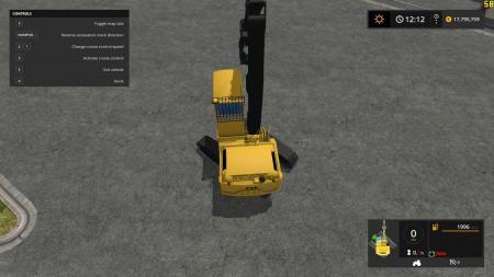 Excavators Tracks Position v1.0 mod
