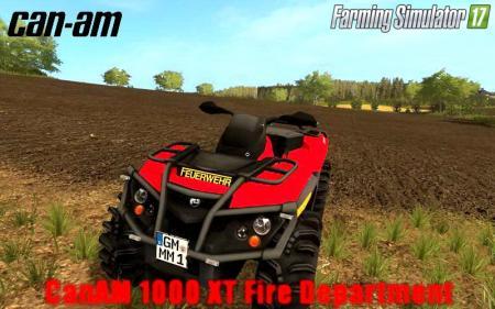 CanAM Outlander1000 RED v2.0