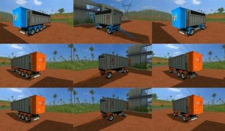 Fliegl TMK Trailers Pack v 1.0