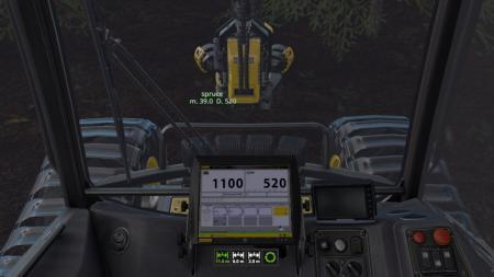 Wood Harvester Automation