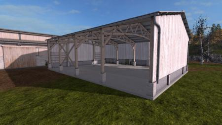 Two Placeable Sheds
