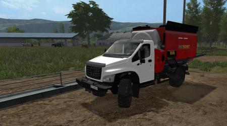 GAZ NEXT 4X4 FEED MIXER V0.9