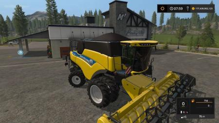 NEW HOLLAND CR 5.85 EVO V1.0