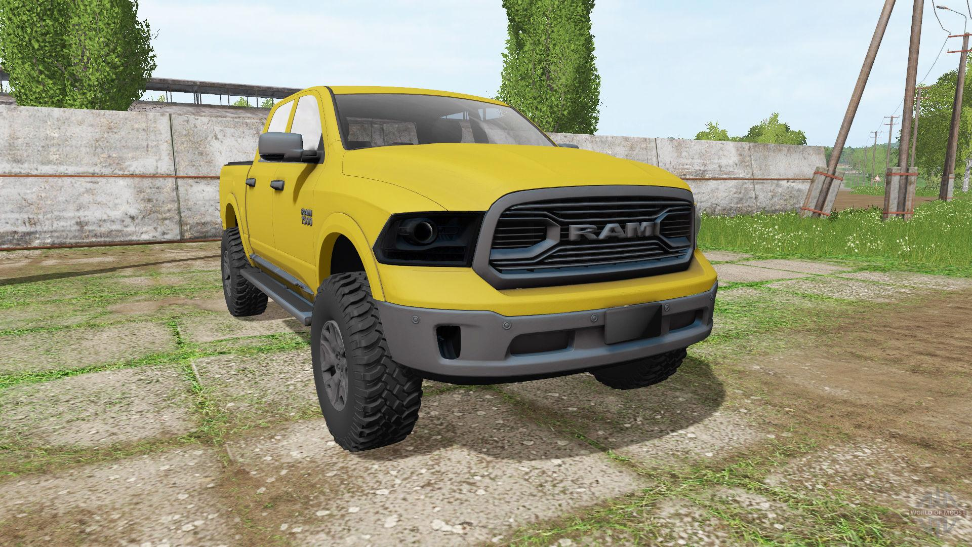 2018 Dodge Rebel >> DODGE » GamesMods.net - FS17, CNC, FS15, ETS 2 mods