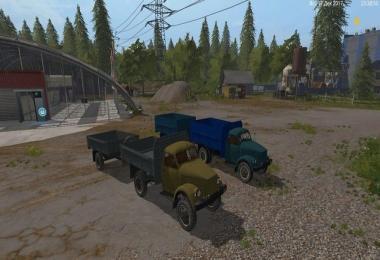 GAZ 51/63 AND TRAILERS V1.0
