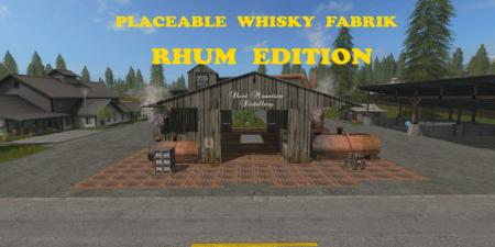 Placeable Whisky Fabrik RHUM Edition
