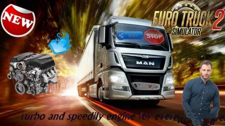 TURBO AND SPEEDILY ENGINE FOR EVERY TRUCKS