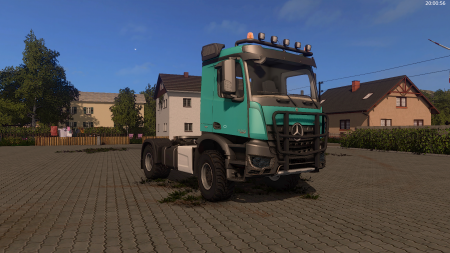 Mercedes Arocs Agrar