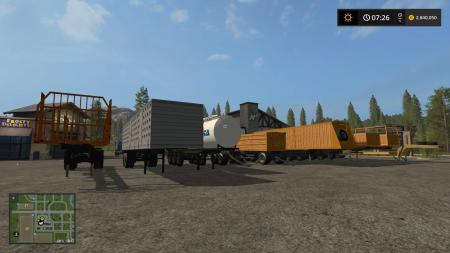 PACK OF SEMI-TRAILERS V1.3.1