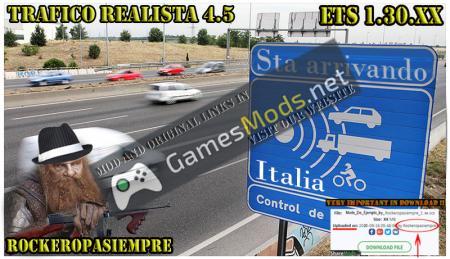 Realistic traffic 4.5