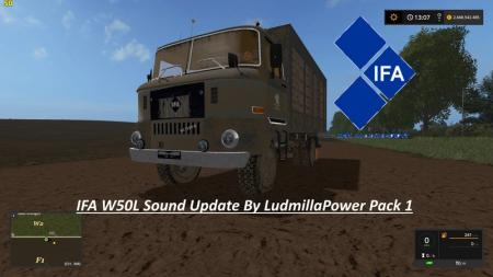 IFA W50L Sound Update By LudmillaPower Pack 1 V 1.0