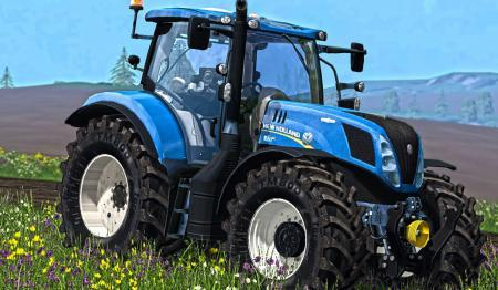 NEW HOLLAND T7240 V2.1