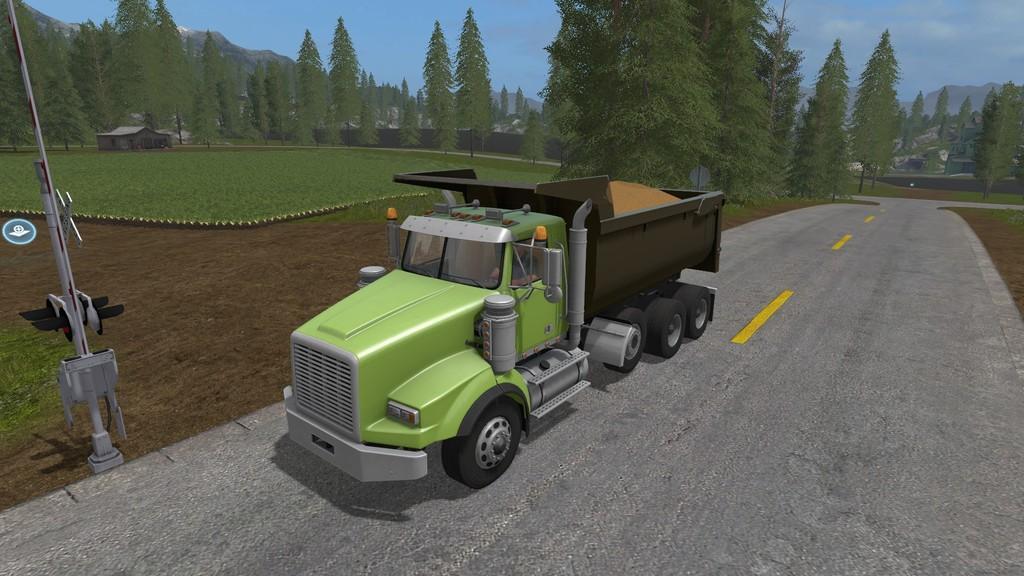 DUMP » GamesMods.net - FS19, FS17, ETS 2 modsKenworth Dump Trucks Fs19