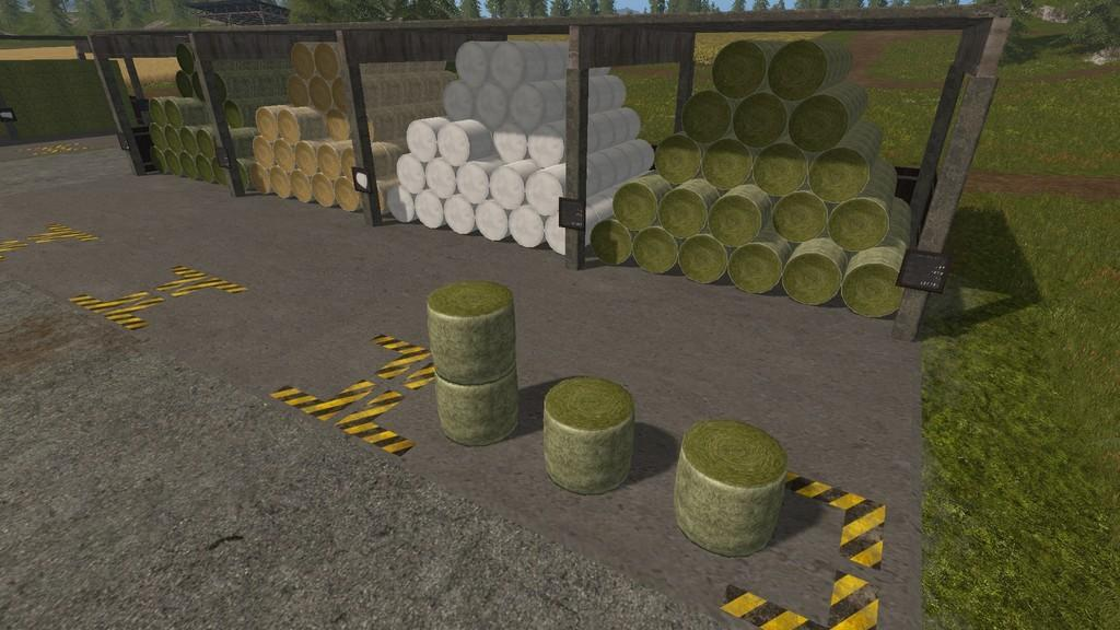 Bale Storage » GamesMods net - FS19, FS17, ETS 2 mods