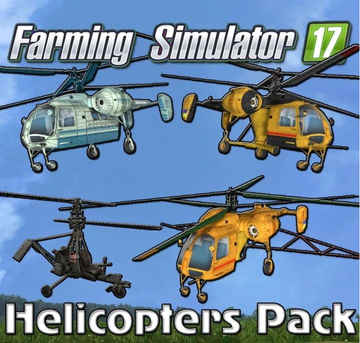 Helicopters » GamesMods.net - FS17, CNC, FS15, ETS 2 mods on