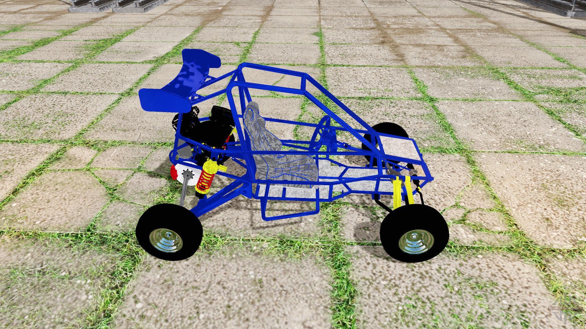Crazy kart » GamesMods net - FS19, FS17, ETS 2 mods