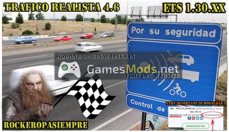 Realistic traffic 4.6 by Rockeropasiempre for V_1.30.XX
