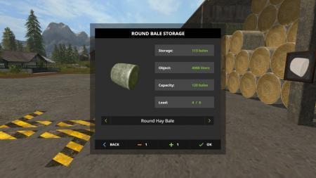 Bale Storage 187 Gamesmods Net Fs19 Fs17 Ets 2 Mods