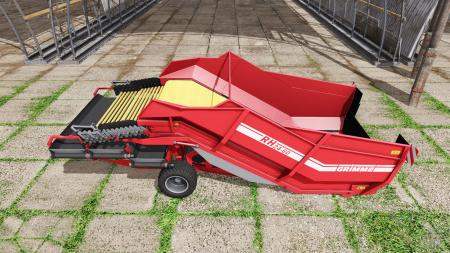 Grimme RH 24-60 manure and woodchips