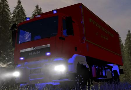 Man Feuerwehr Fahrzeug (GW-L)