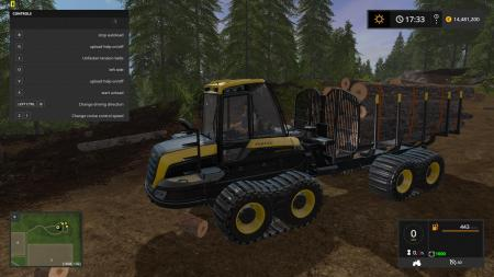 Ponsse Buffalo with autoload and loading aid v1.1 mod