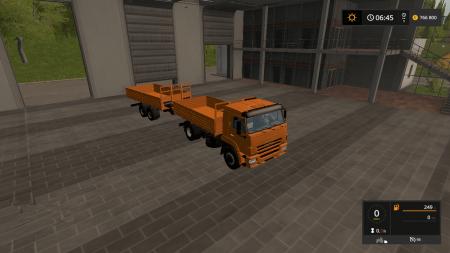 KAMAZ 45253 AND SCHMITZ 18T V1.1
