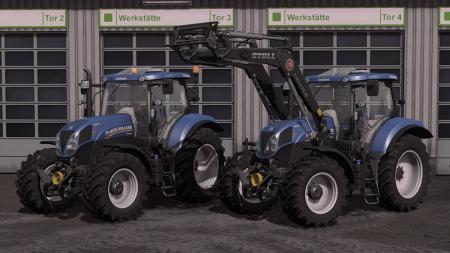 New Holland T7 Tier4a V1.0.0.0