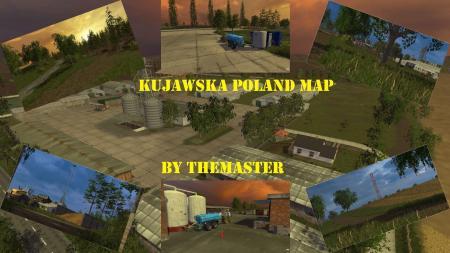 Kujawska Poland Map