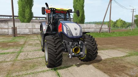 New Holland T7.315 Red Bull