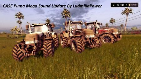 Case Puma Mega Sound Pack By LudmillaPower