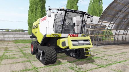 CLAAS Lexion 780 TerraTrac