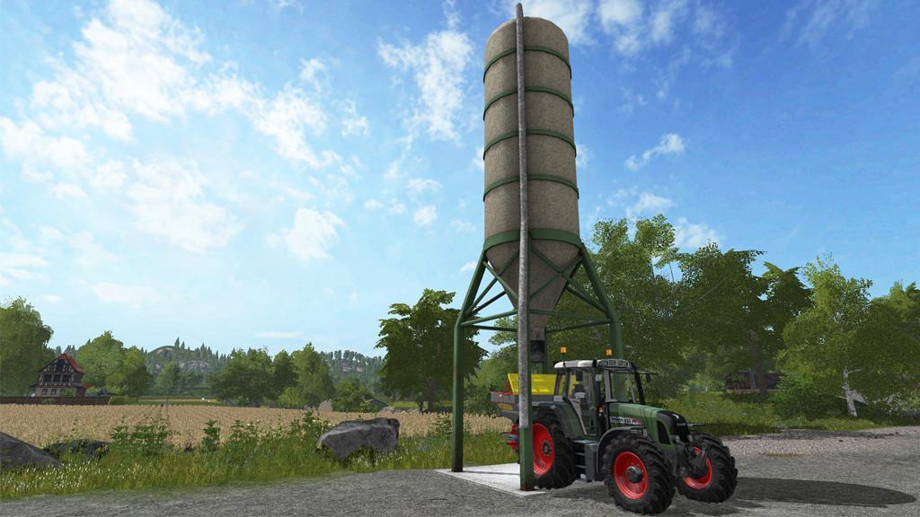 Fertilizer Silo » GamesMods net - FS19, FS17, ETS 2 mods