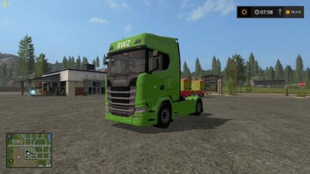 SCANIA S RAIFFEISEN VERSION V1.0