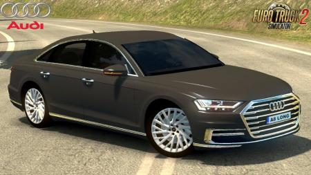 AUDI A8 LONG 2018 + INTERIOR V1.0 (REWORKED) 1.30.X