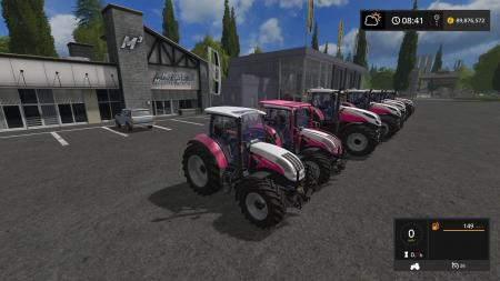 STEYR TRACTORS BY STEVIE