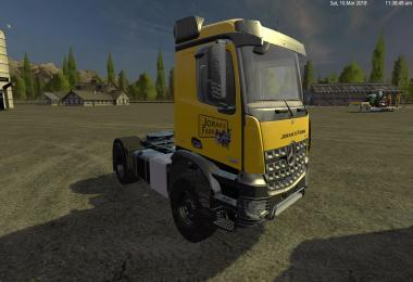 LOW LOADER WITH MB AROCS V1.0