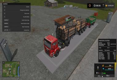 WEIGHT STATION FOR WOOD LOGS PLACEABLE V1.0