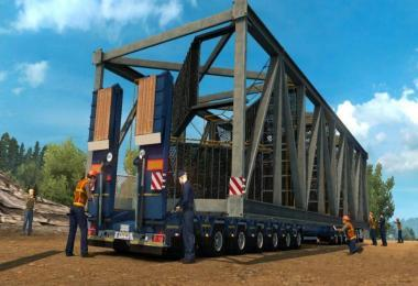 150 TONS TRAILER FOR SPECIAL TRANSPORT 1.30.X