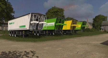 AGRICULTURAL TRAILER WITH DH V1.0