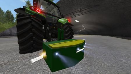 1250 KG John Deere Weight
